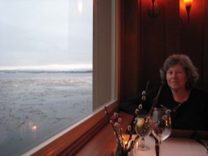 Dinner Day 1 Overlooking Monterey Bay